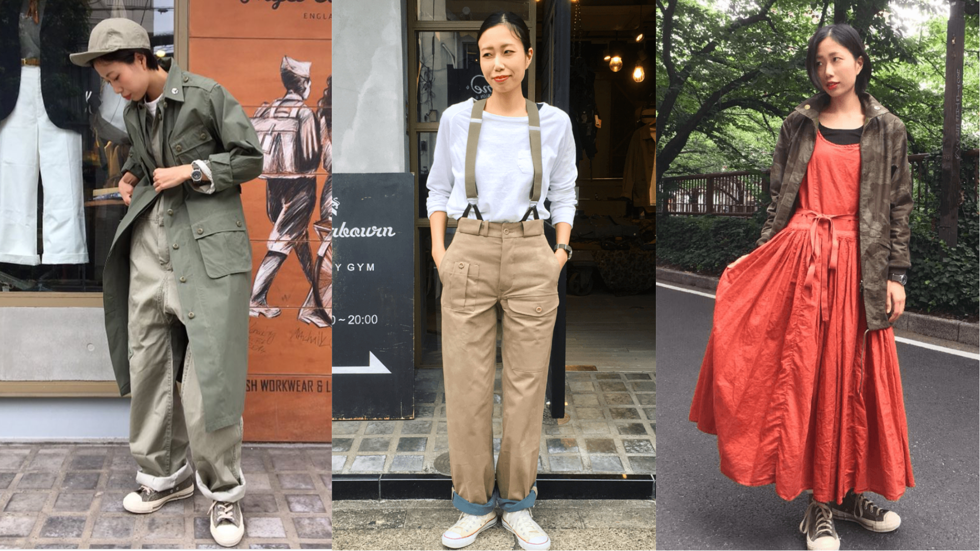 Boyish Casual Style|運用軍裝元素塑造反差的女子穿搭術