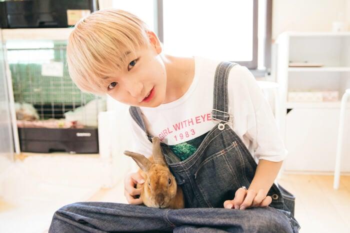 TEMPURA KIDZ P→★的動物咖啡日記#3 可以與兔子玩耍的原宿「Ra.a.g.f」 TEMPURA KIDZ_、動物咖啡廳、在原宿、