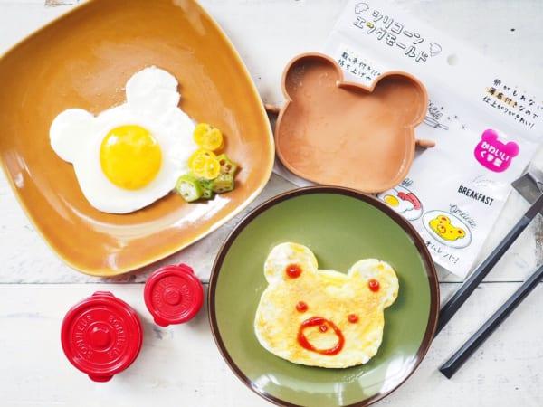 百元商店矽膠煎蛋模型 小熊形狀