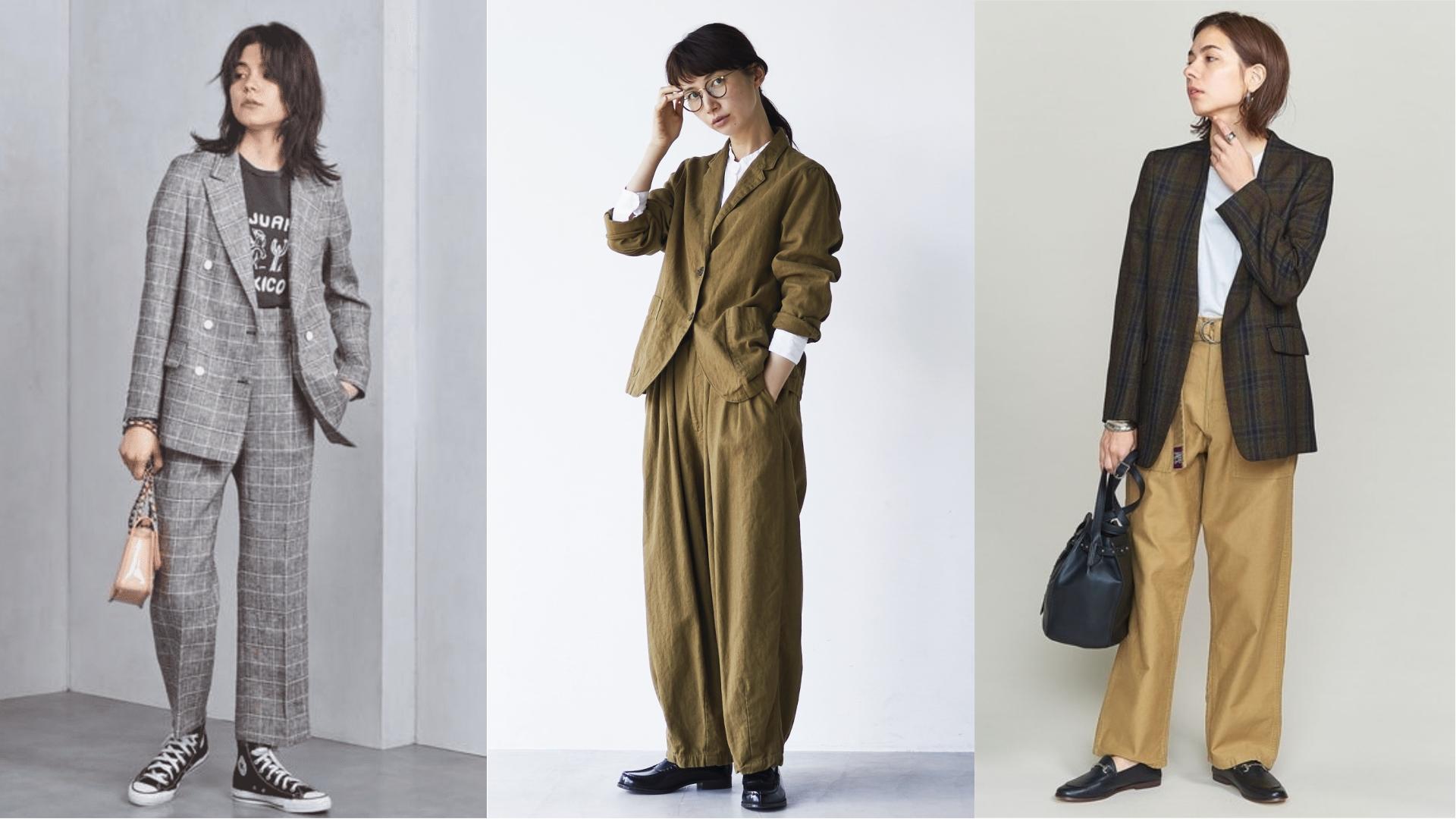 誰說紳裝專屬於男性!秋日就用紳裝打造日系女子的『Gentlewoman Style』