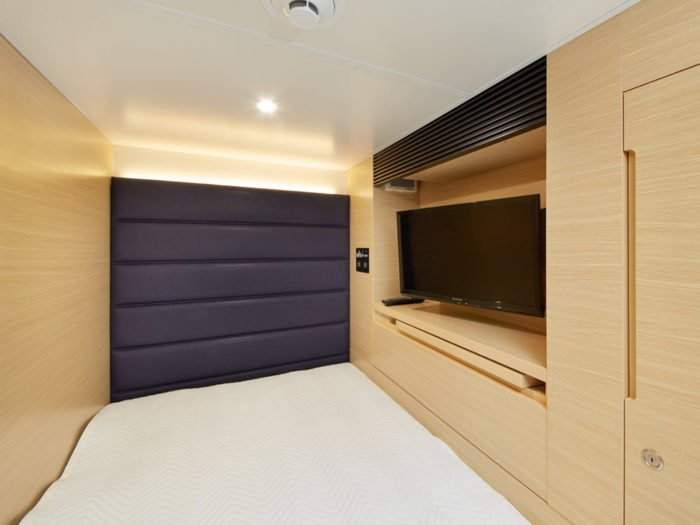 smart stay SHIZUKU京都駅前 kyoto ekimae 雫井膠囊旅館標準房間