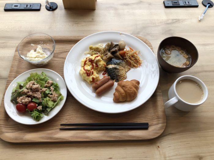 smart stay SHIZUKU京都駅前 kyoto ekimae 雫井膠囊旅館早餐