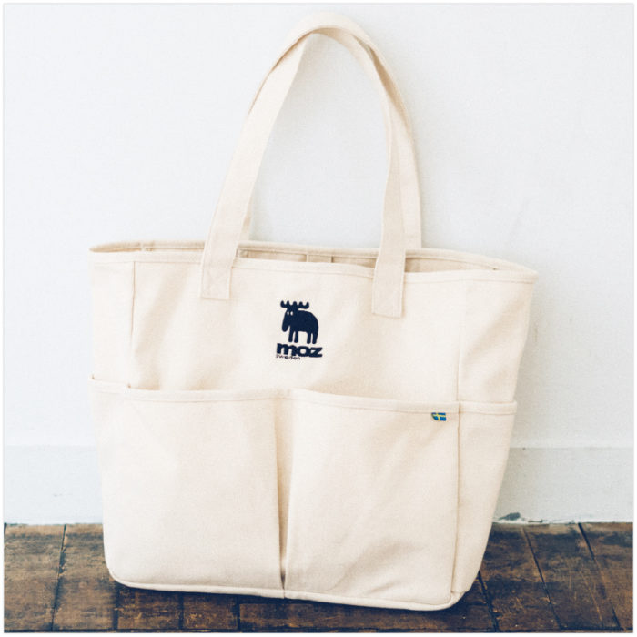 moz 5 POCKETS TOTE BAG本體
