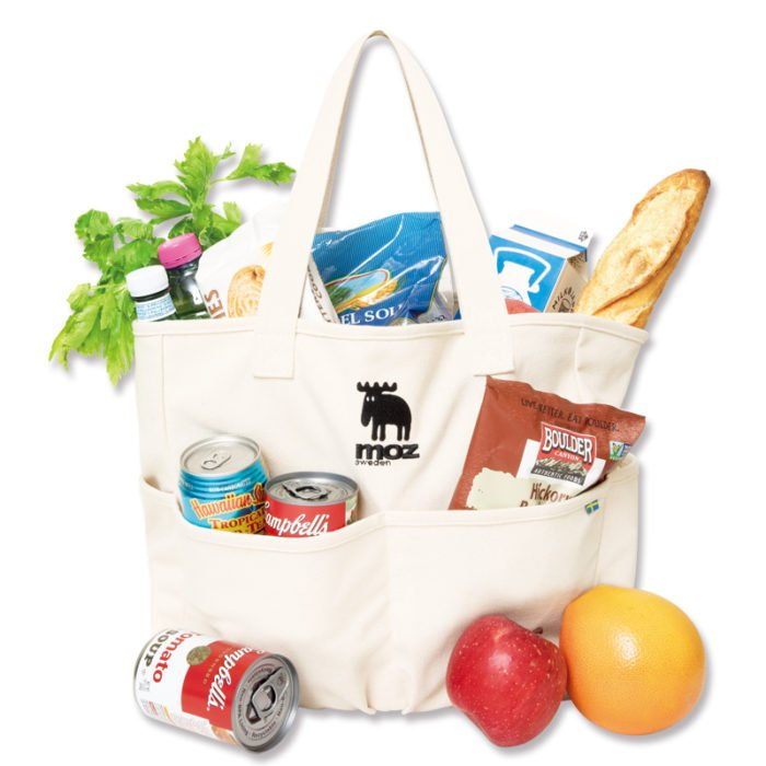 moz 5 POCKETS TOTE BAG示範照