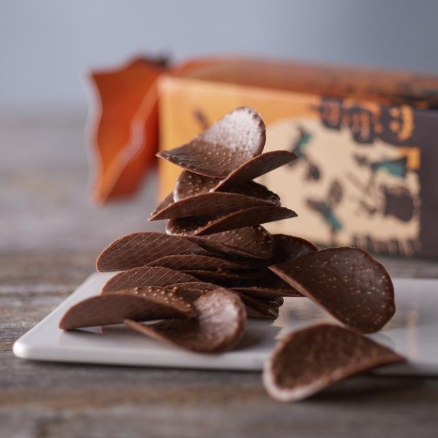 日本星巴克柳橙巧克力洋芋片