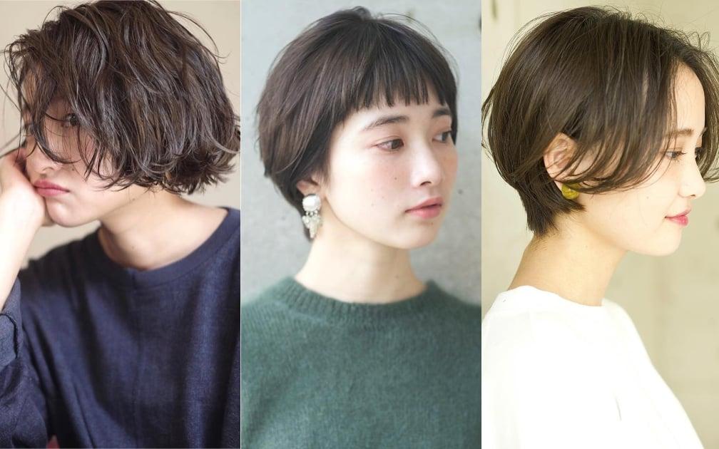 日本女生今秋都剪了俐落短髮!搭配份量感秋冬衣履才剛好