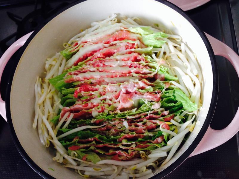白菜豬肉鍋