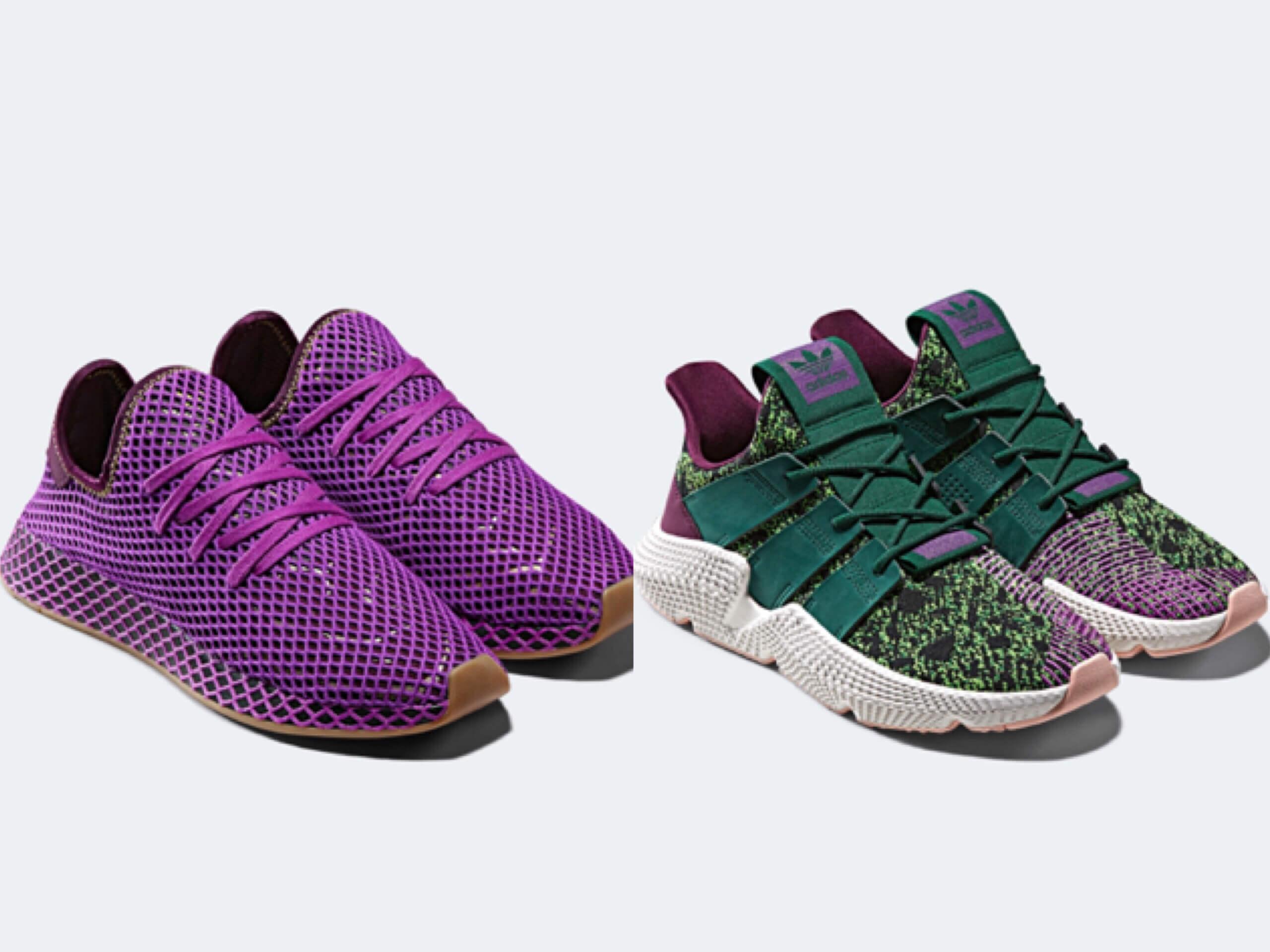七龍珠z與adidas合作推出運動鞋!第二彈為悟飯與賽魯 adidas_、七龍珠、