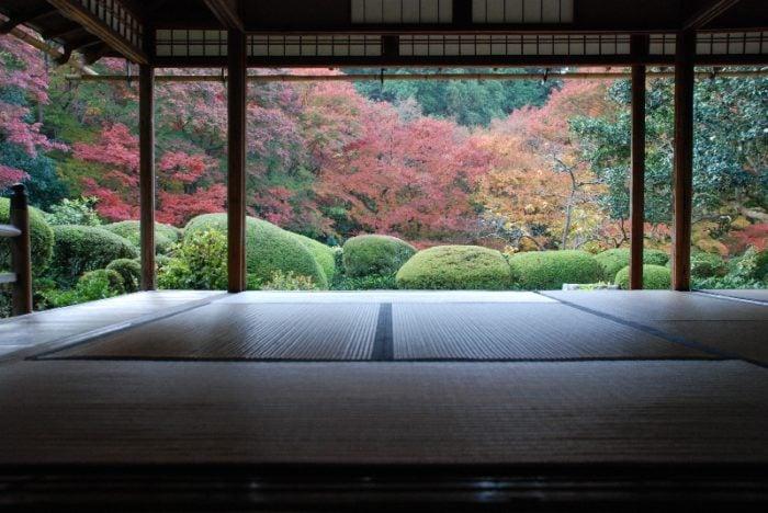京都賞楓一日散策散步路線詩仙堂庭園秋景