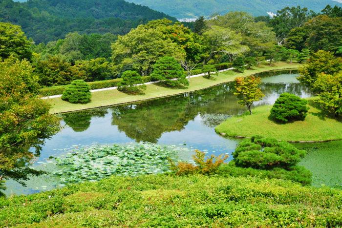 京都賞楓一日散策散步路線修學院離宮