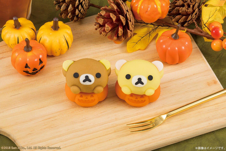 日本LAWSON推出懶懶熊與牛奶熊萬聖節和菓子! 懶懶熊、甜點、萬聖節、