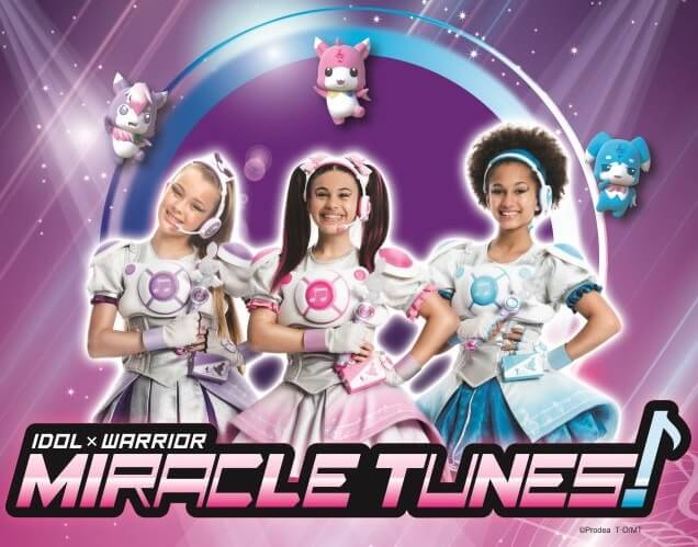 在義大利本地版「IDOL × WARRIOR MIRACLE TUNES!」放送決定 偶像戰士MIRACLE TUNES!、
