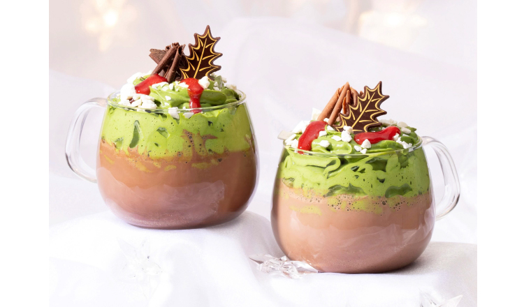 冬天限定 Lindt Chocolat Cafe「抹茶熱巧克力飲料」新登場 抹茶_、甜點、