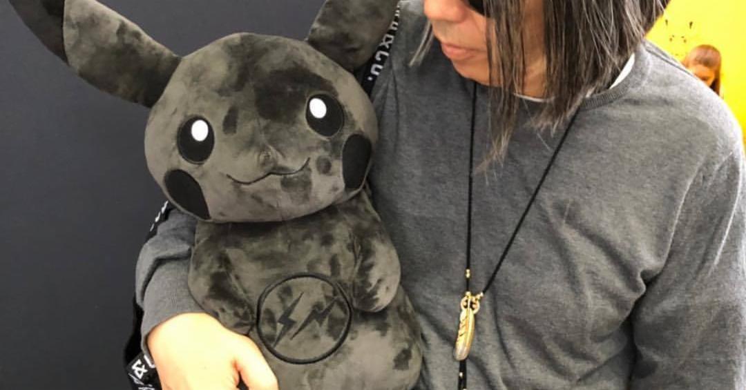 2018 藤原浩x皮卡丘聯名款閃電登場!潮牌酷炫黑皮神快拜