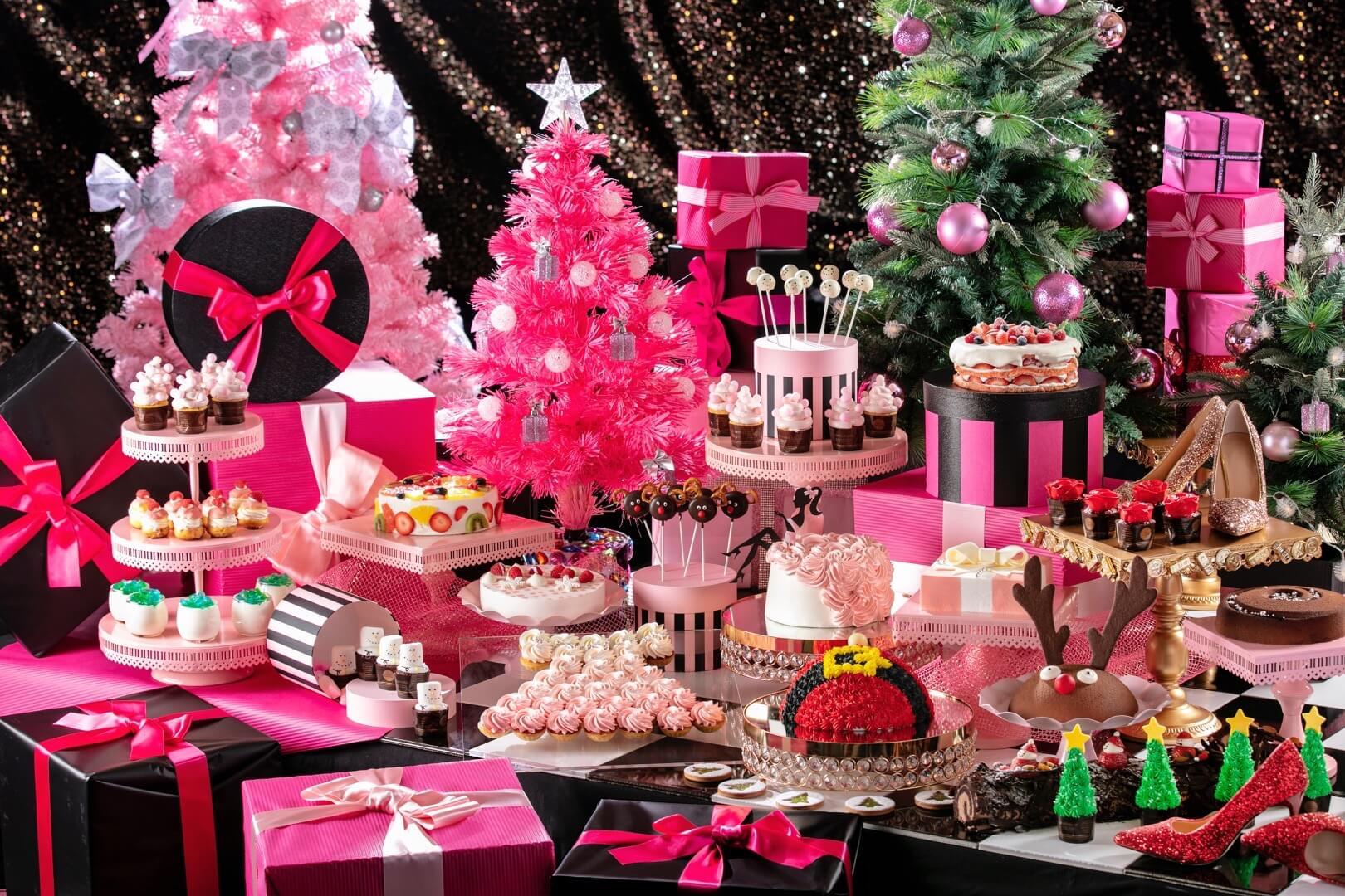 東京台場希爾頓飯店舉辦聖誕Buffet活動「GIRLS・SWEETS COFFRET」 台場、甜點、聖誕節、