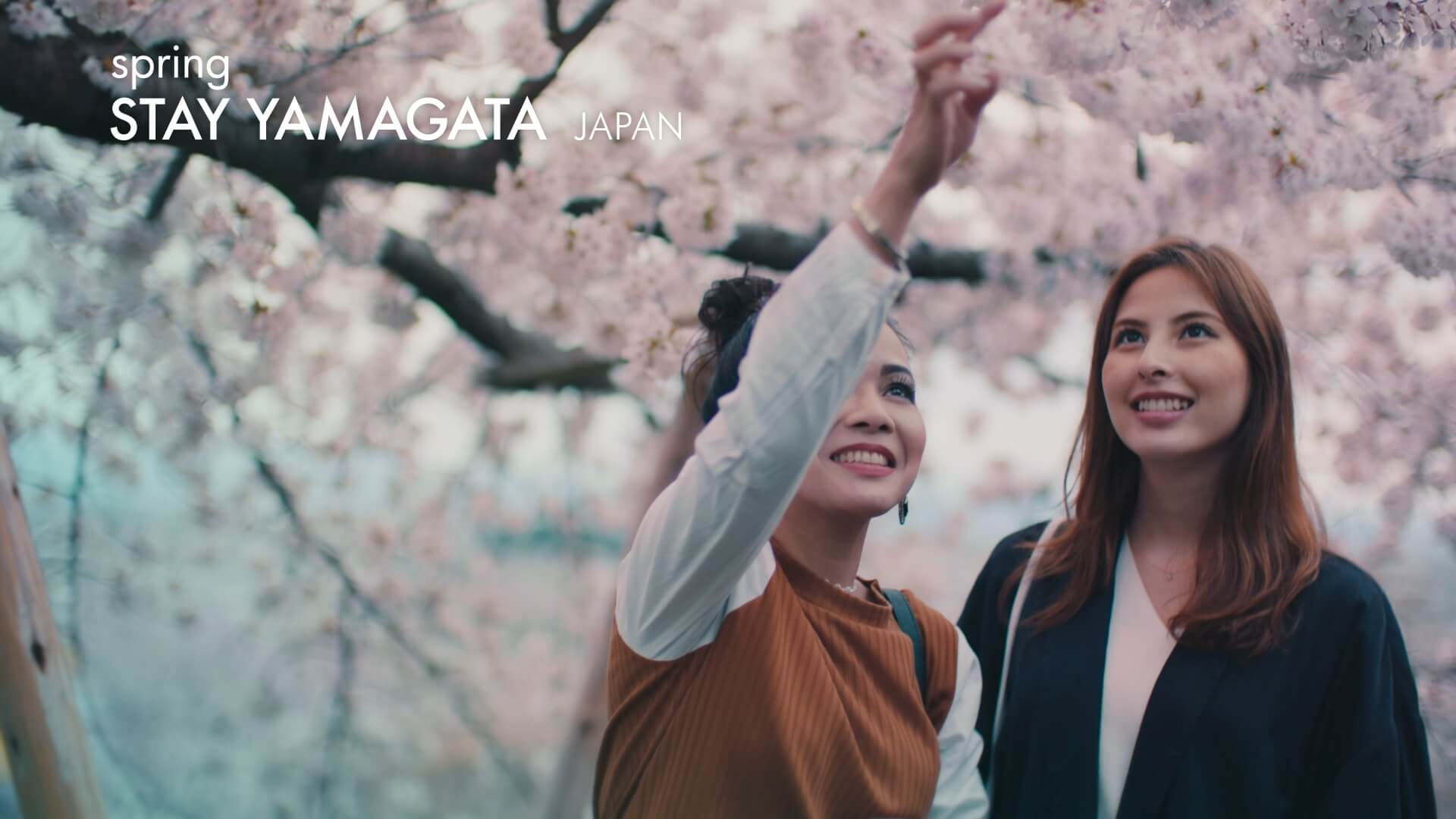 介紹櫻花的絕景而有名的山形縣的魅力的影像「STAY YAMAGATA」公開 山形_、