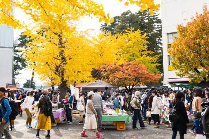 秋季東京蚤之市意象圖