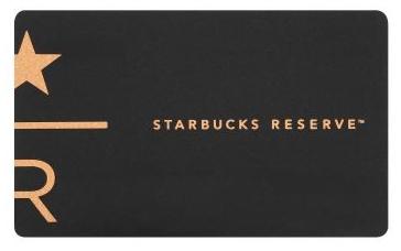 日本星巴克隨行卡STARBUCKS RESERVE® 門市限定卡
