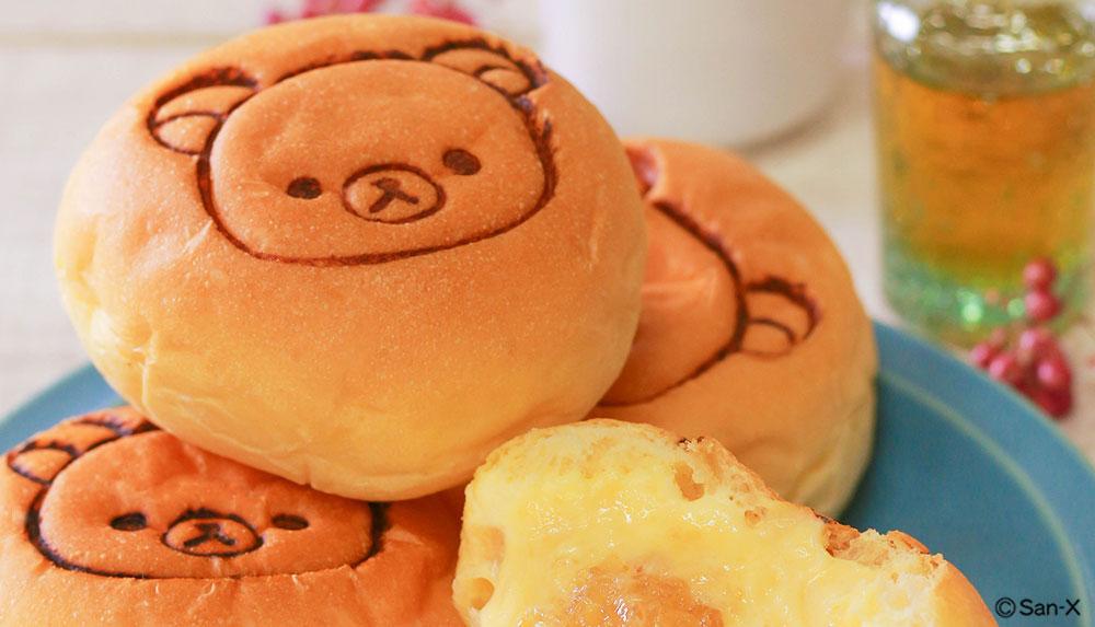 拉拉熊奶油麵包