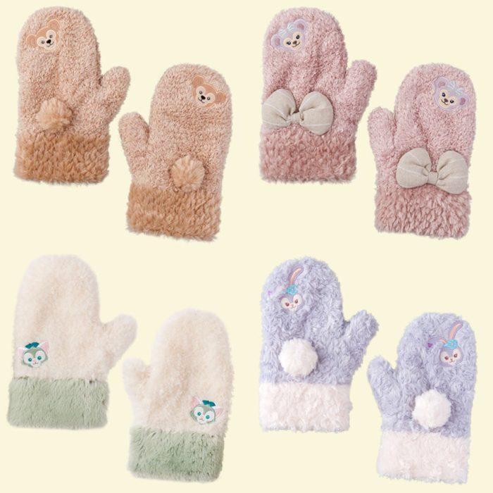 達菲毛暖手套