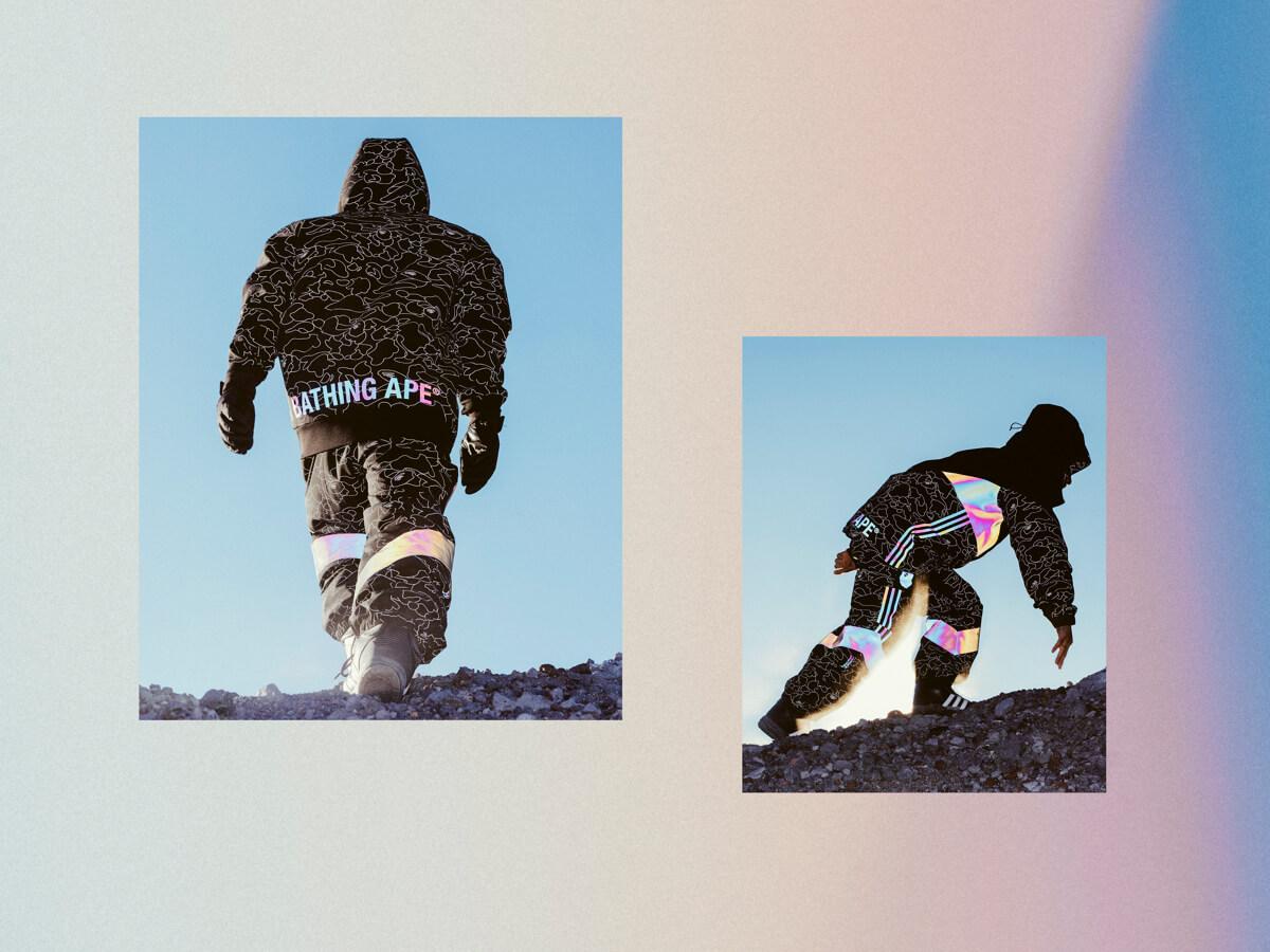 adidas與BAPE®合作!設計感與機能性兼具的冬季服裝發售 A BATHING APE®、adidas_、