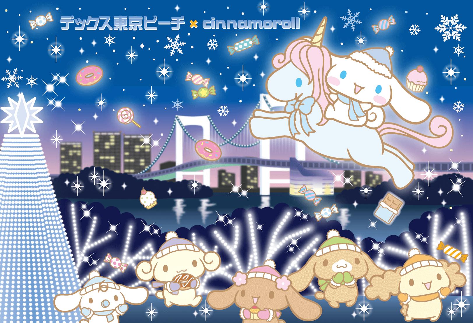 大耳狗咖啡廳與燈展登場!東京台場聖誕節活動「DECKS 東京 Beach 2018冬」 在台場、大耳狗、燈飾、