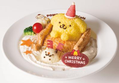 「布丁狗咖啡廳」聖誕節餐點於原宿、梅田登場 布丁狗、聖誕節、