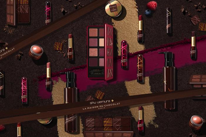 由植村秀表現ʻʻ巧克力的世界觀ʻʻ的Holiday Collection發售 化妝品、植村秀、
