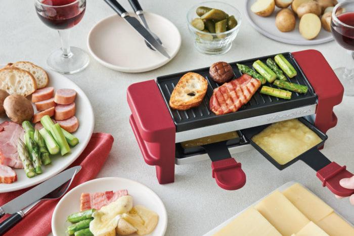 recolte 麗克特 Raclette and Fondue Maker Melt 拉可雷特起士鍋巧克力鍋使用範例