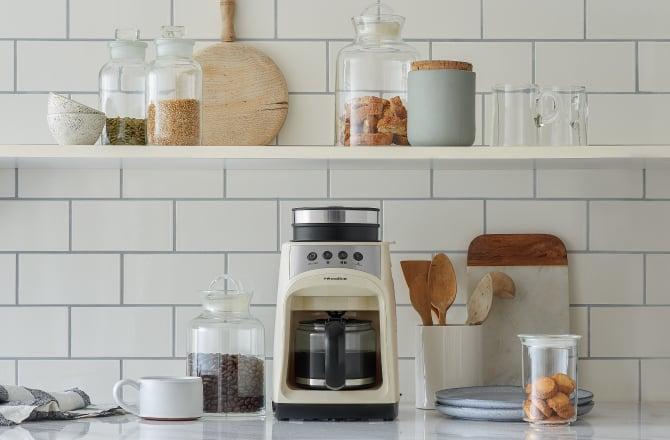 recolte麗克特Grind & Drip Coffee Maker FIKA咖啡機產品示意圖