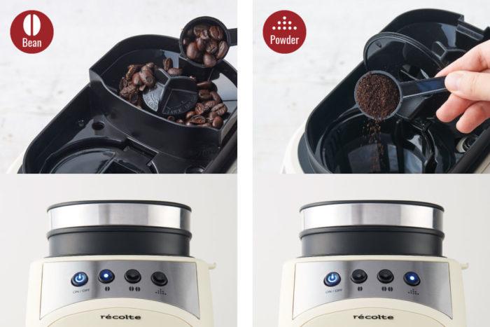 recolte麗克特Grind & Drip Coffee Maker FIKA咖啡機自動磨豆及咖啡粉