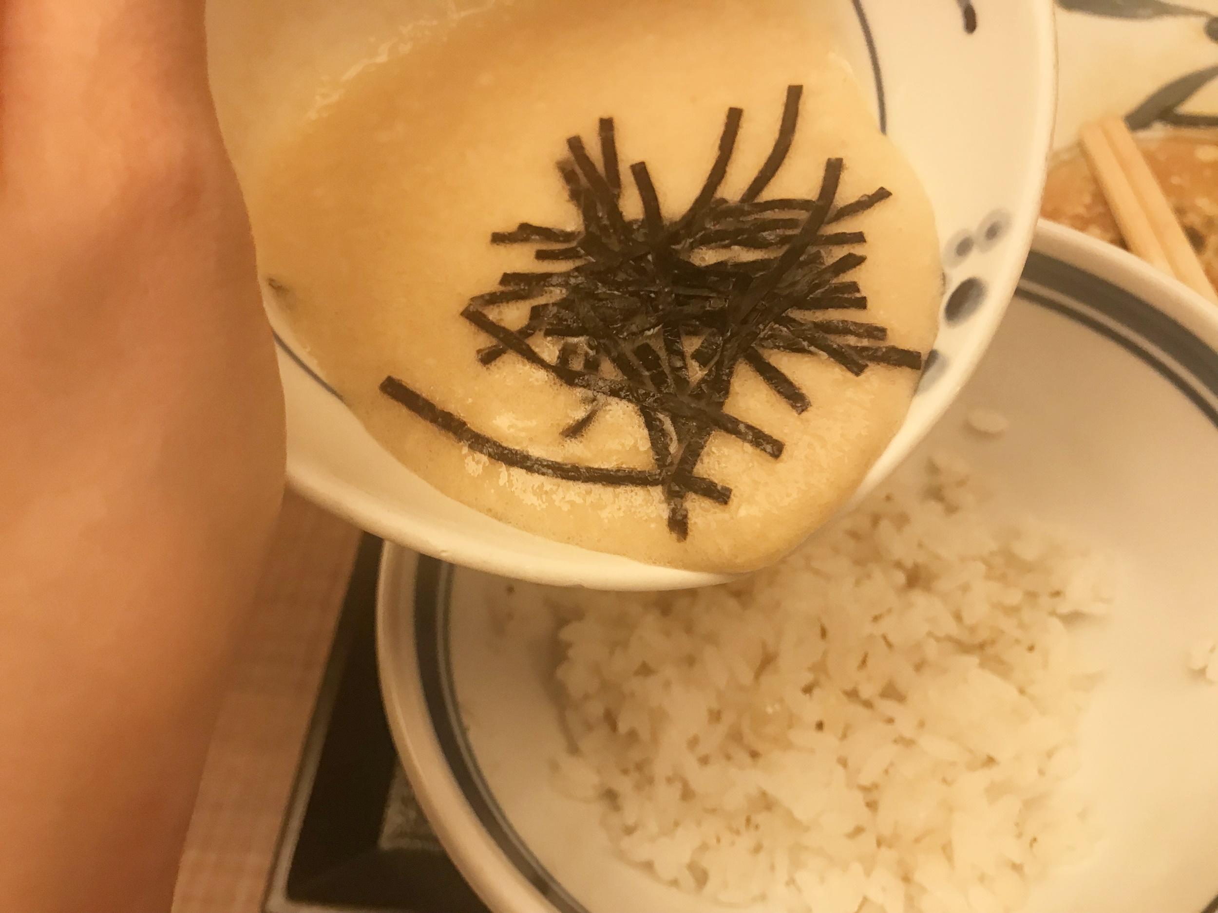 山藥泥麥飯