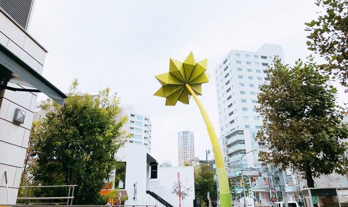 代官山代表物太陽能花