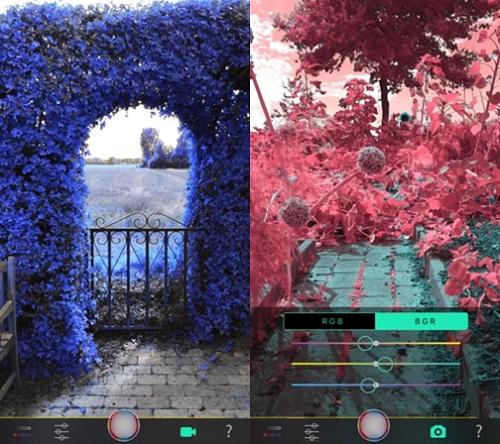 Full Spectrum Camera介面