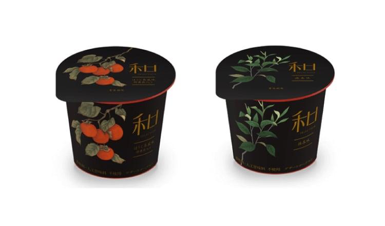 Danone Japan發售抹茶、柿子(あんぽ柿)所製作的和式優格點心 抹茶_、甜點、