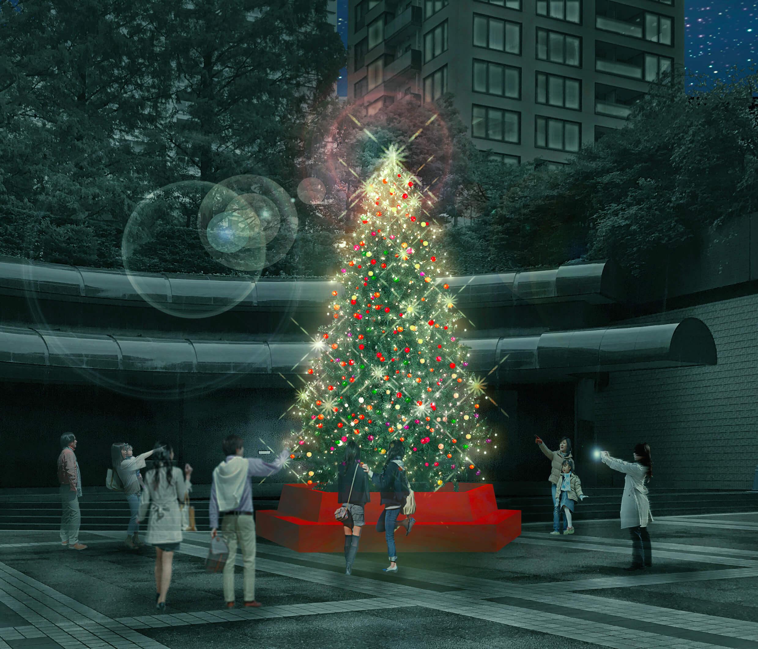 Ark Hills也登場杉樹的聖誕樹!舉辦「ARK HILLS CHRISTMAS 2018」 ARK HILLS_、聖誕節、