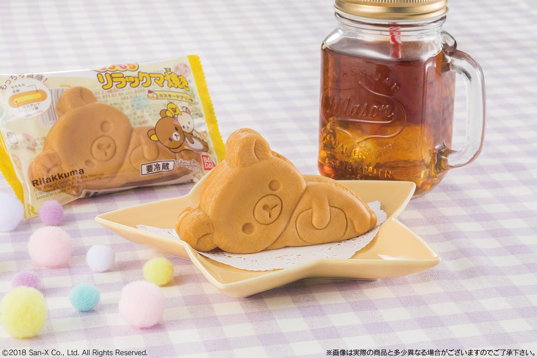 懶懶熊躺臥的身姿變得甜點!「MOCHIMOCHI懶懶熊餅」 懶懶熊、
