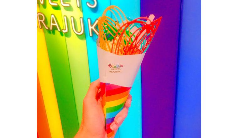 Rainbow Crepe在原宿登場!在「RAINBOW SWEETS HARAJUKU」開始販賣 在原宿、甜點、