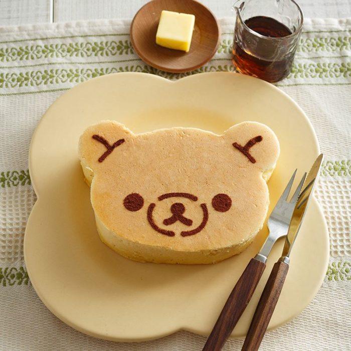 拉拉熊厚燒鬆餅成品
