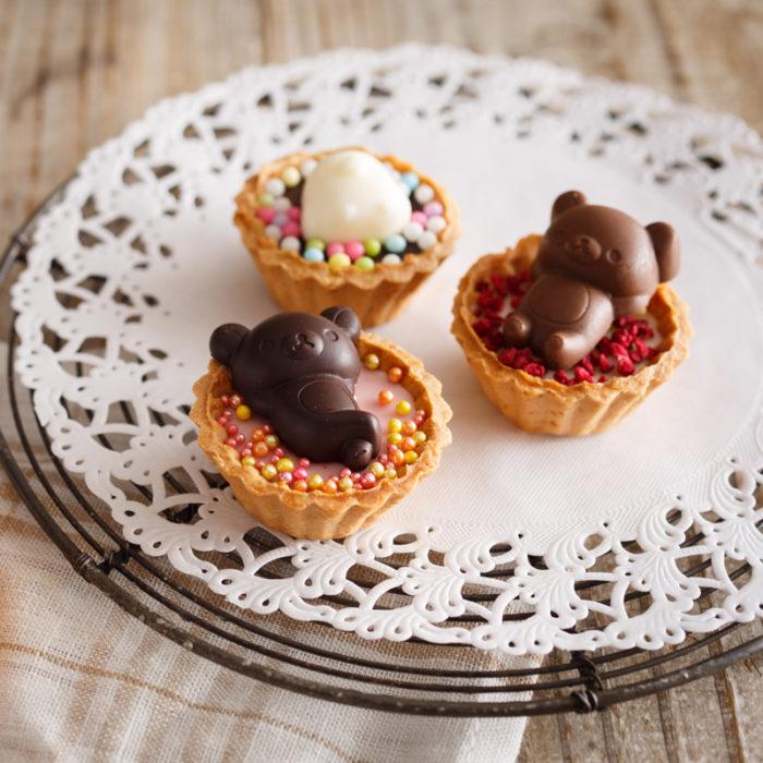 市售小塔專用巧克力模成品