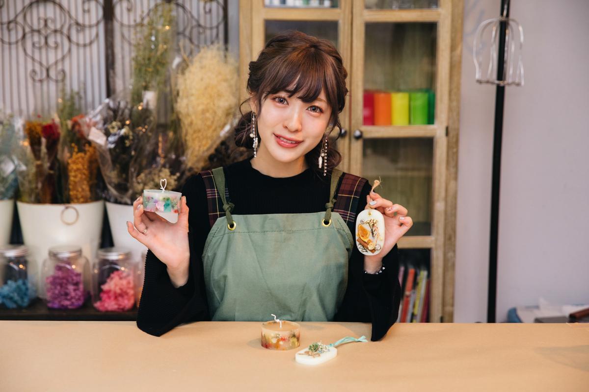 【SAI SAI JALAN JALAN #5】 SILENT SIREN 吉田菫(Suu)蠟燭製作初體驗♡代官山「Candle Studio」