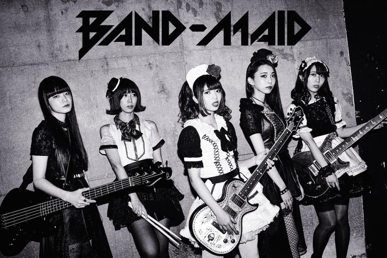 BAND-MAID,TV動畫片「遊☆戲☆王VRAINS」ED曲發佈決定 BAND-MAID_、
