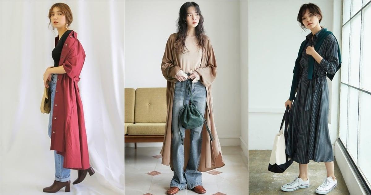 輕鬆穿搭也時髦!交給長版襯衫營造秋末的自然率性