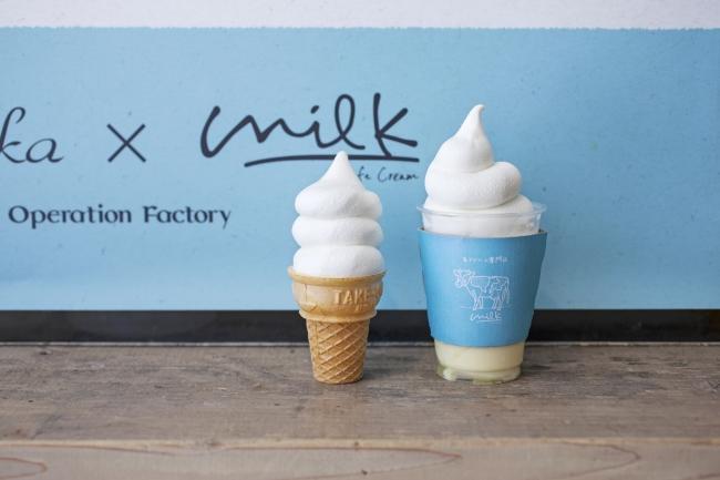 日本首間「生奶油專門店milk」在大阪梅田登場 在大阪、甜點、
