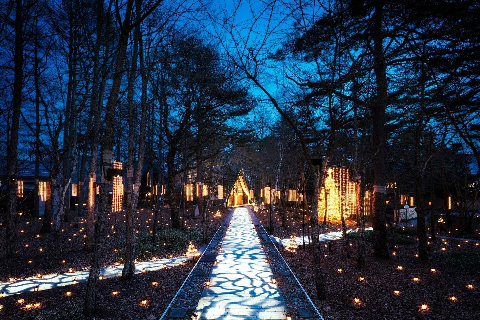 輕井澤高原教會舉辦「聖誕蠟燭之夜 2018」 在軽井沢、聖誕節、