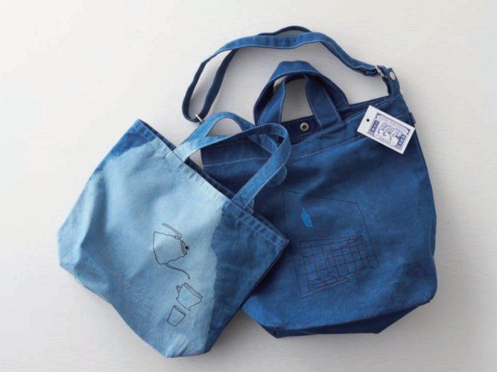 BLUE BOTTLE藍瓶咖啡 x 藍染師 藍染包