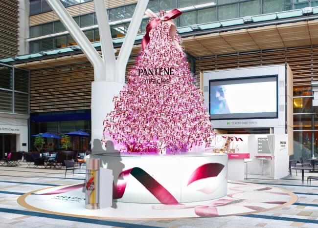 隨著2人的心跳數而產生變化的聖誕樹 將在東京中城MIDTOWN誕生 聖誕節、