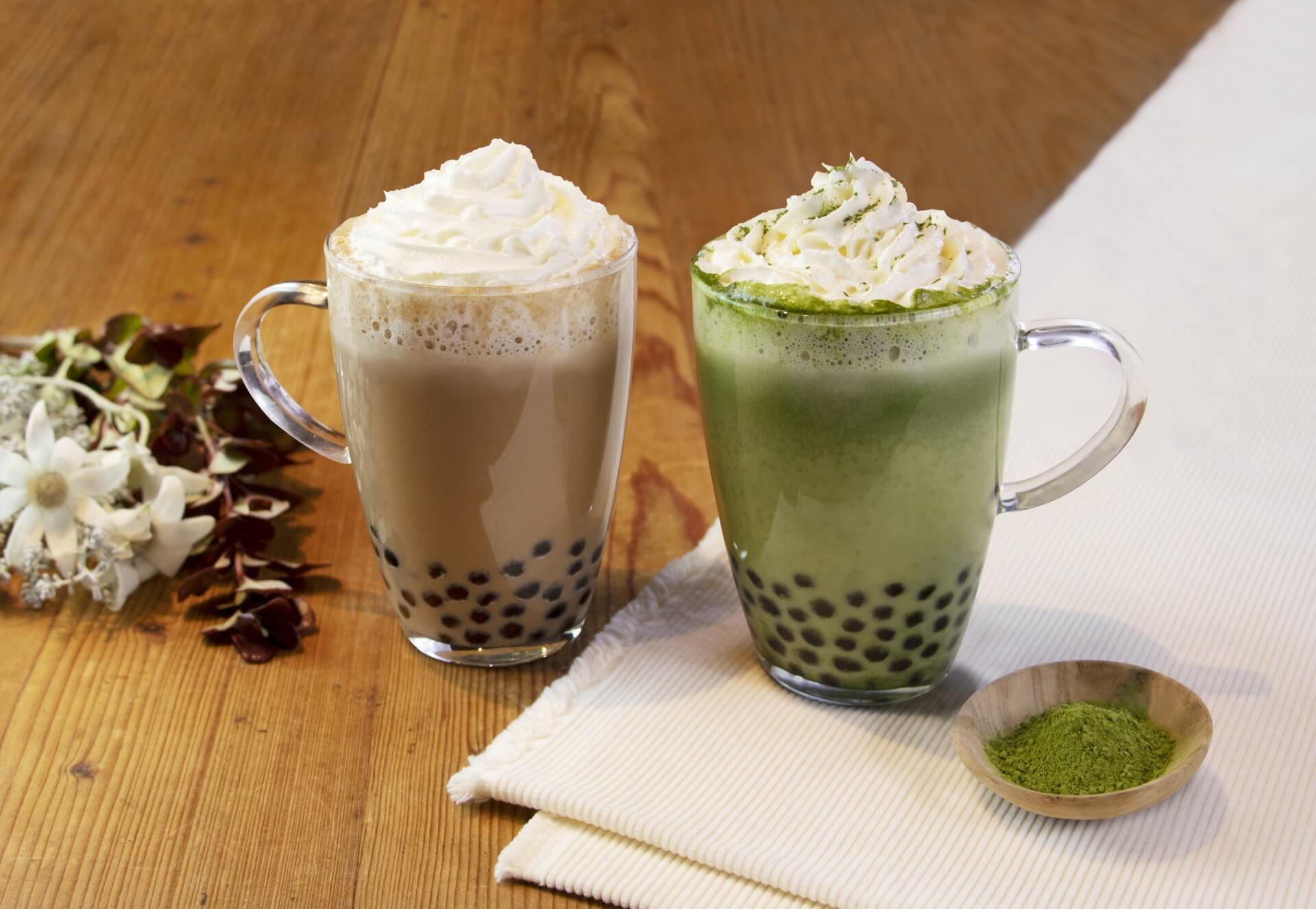 珍珠奶茶起源店春水堂 白巧克力抹茶登場 咖啡廳、抹茶_、春水堂_、