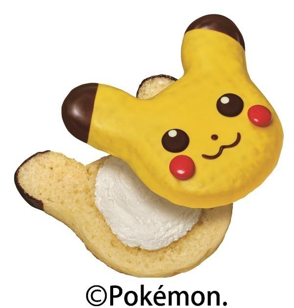 Mister Donut皮卡丘甜甜圈