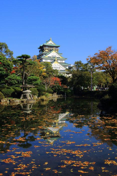 關西攻略紅葉景點20選_大阪城公園